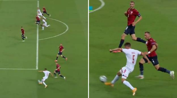 Joakim Mæhle Has Channeled His Inner Quaresma To Produce Euro 2020's Greatest Assist