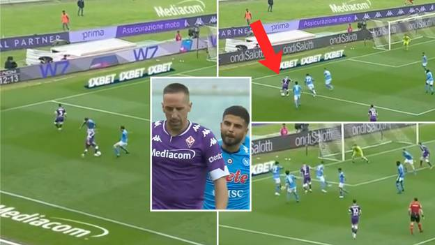 38-Year-Old Franck Ribery Rolls Back The Years With Insane Dribbling To Bamboozle Four Defenders