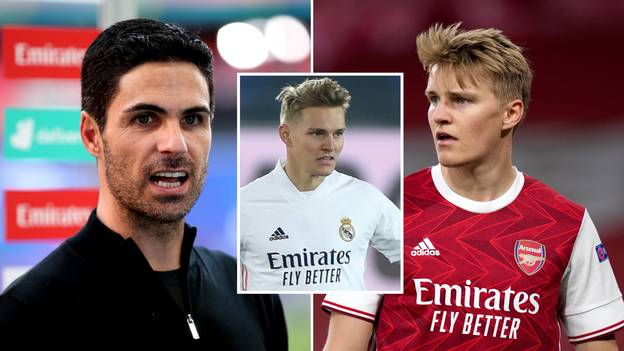 Real Madrid Will Offer Martin Odegaard To Arsenal In Unexpected Summer Swap Deal