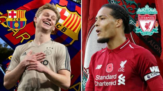Barcelona To Make Frenkie De Jong Highest-Paid Dutch Footballer Ahead Of Virgil Van Dijk