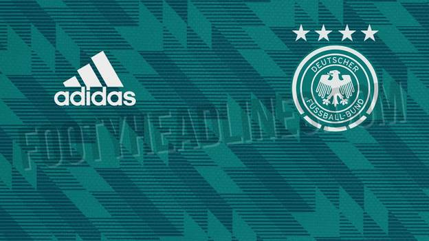 Germany's Retro Away Kit For The World Cup Is An Absolute Belter