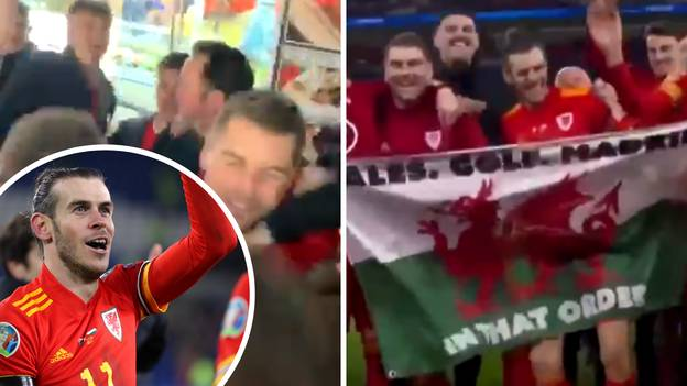 Gareth Bale's Wales Teammates Filmed Singing 'Wales, Golf, Madrid' In Streets
