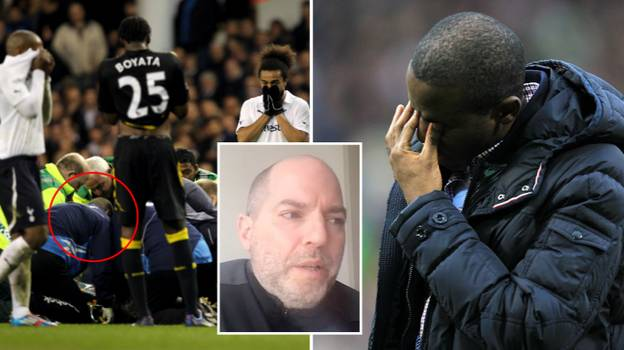 Fabrice Muamba Meets The Doctor Who Helped Save His Life, Nine Years On
