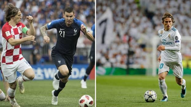Luka Modrić Names Who He Thinks Should Win The 2018 Ballon d'Or