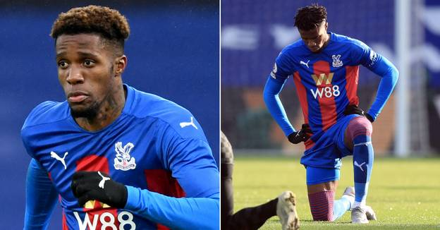 Wilfried Zaha Becomes First Premier League Player To Say He Won't Take The Knee