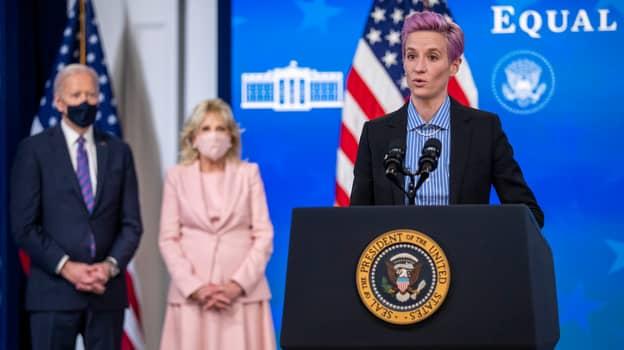"Megan Rapinoe To Joe Biden: ""I'm Still Paid Less Than Men Who Do The Same Job That I Do"""