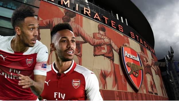 Pierre-Emerick Aubameyang Offered £300,000-A-Week Contract To Quit Arsenal