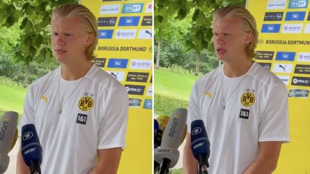 Borussia Dortmund Striker Erling Haaland: '€175 Million Would Be A Lot Of Money For One Person'