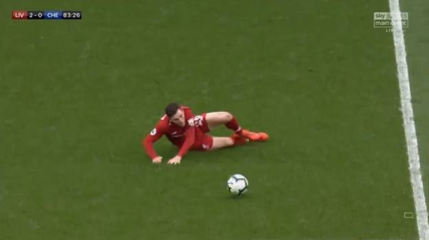 Liverpool Manager Jurgen Klopp Brilliantly Reacts To Andy Robertson's Slip Against Chelsea