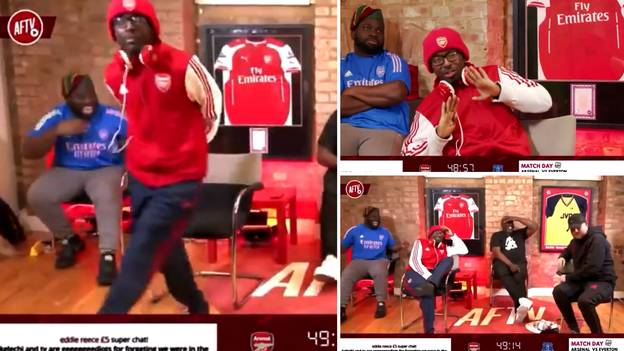 AFTV Peaked During Arsenal Vs Everton When TY Destroyed DT And Started Dancing