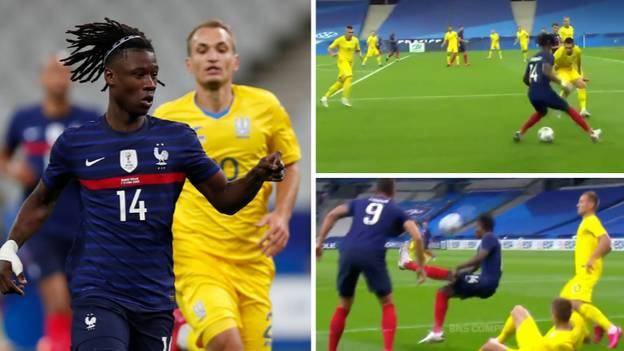 17-Year-Old Eduardo Camavinga's Individual Highlights vs Ukraine Prove He Is Football's Next Big Star