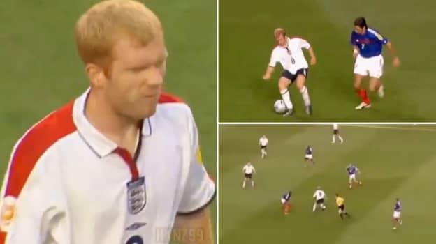 Paul Scholes Performance Vs France At Euro 2004 Was Brilliant