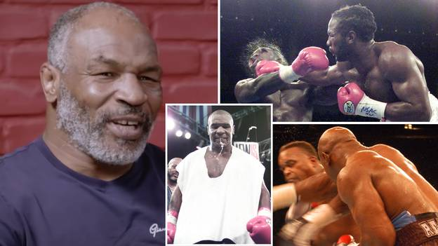 Mike Tyson Snubs Evander Holyfield And Lennox Lewis As He Reveals ONLY Boxer Who Could Take His Power