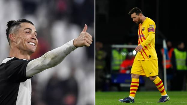 Cristiano Ronaldo Fans All Make The Same Lionel Messi Joke After He Scores Hat-Trick For Juventus