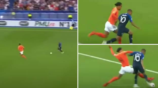 Virgil Van Dijk Is The Only Player To Pass 'The Kylian Mbappe Test'
