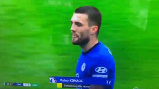 """Mateo Kovacic Heard Calling David Coote The """"Worst Ref Ever"""" During Chelsea Defeat"""