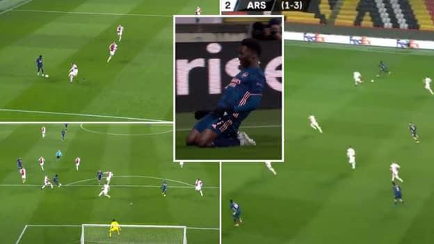 Arsenal Score Three Goals In Six Minutes Including Bukayo Saka Stunner