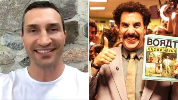Wladimir Klitschko's Incredible Response When Asked If He Purposely Tries To Sound Like Borat