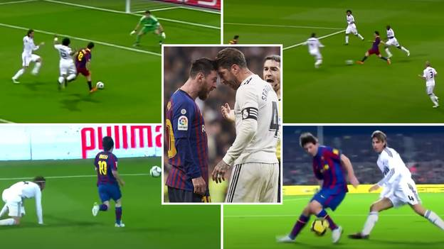 Incredible Compilation Emerges Of Lionel Messi 'Destroying' Sergio Ramos For 14 Years Straight