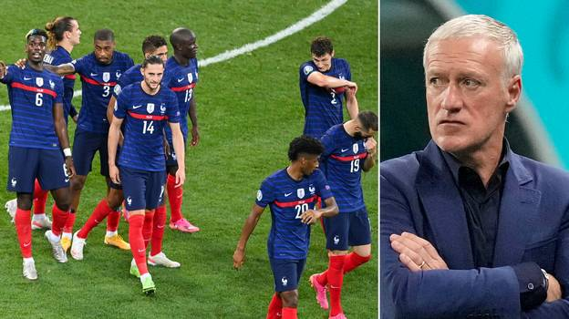 France Player Refused To Come Off Against Switzerland And Had An Argument With Didier Deschamps