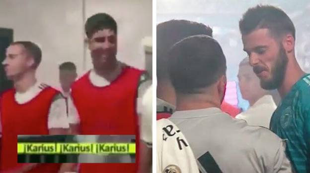 "David De Gea Was Once Called ""Karius"" By Real Madrid's Marco Asensio In Tunnel"