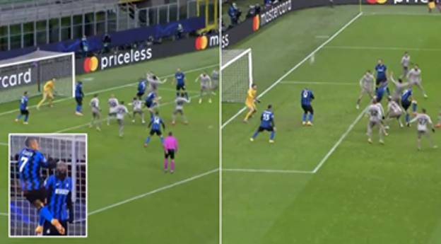 Romelu Lukaku Denies Inter Milan Champions League Qualification By Blocking Alexis Sanchez Header