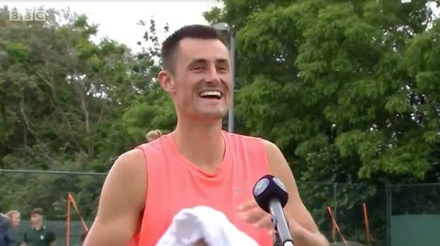 Aussie Tennis Player Bernard Tomic Says 'I S**t Myself' During Live TV Interview