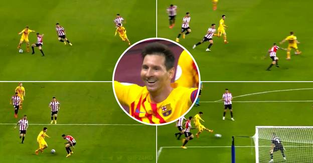 Insane New Angle Of Lionel Messi's Copa Del Rey Final Goal Shows How Amazing It Is