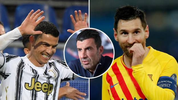 Luis Figo Names His Top Six Best Players In World Football