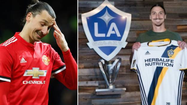 Zlatan Ibrahimovic Is Taking A Whopping 95% Pay Cut In Joining LA Galaxy