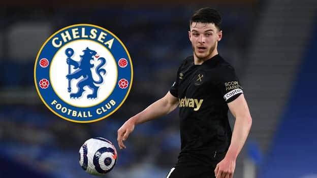 Chelsea Offer Striker In Swap Deal To Sign Declan Rice