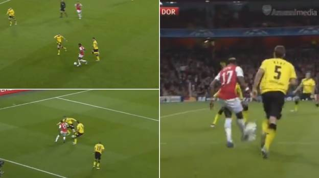 Alex Song Is Still Responsible For One Of The Greatest Assists In Champions League History