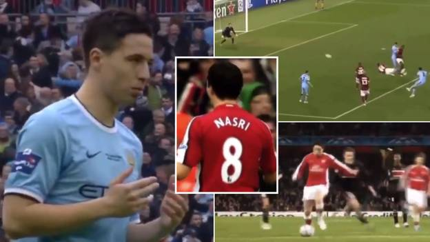 Compilation Of Samir Nasri Balling For Arsenal And Manchester City Is Going Viral After Retirement Announcement