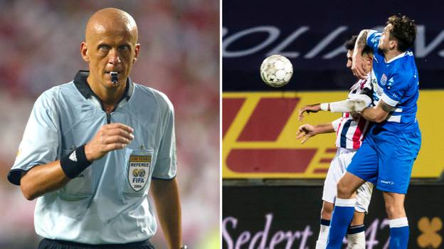 Legendary Referee Pierluigi Collina Had A Theory When Deciding If An Elbow Was Deliberate Or Not
