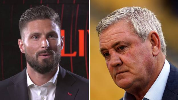 Oliver Giroud Is Backing Former Manager To Take Steve Bruce's Job At Newcastle United