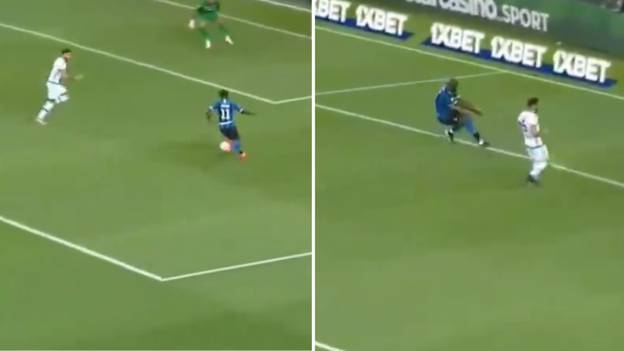 Romelu Lukaku Screams 'Victor, F***ing Hell!' After Moses Fails To Pick Him Out For Inter Milan