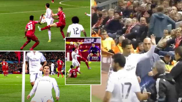 The Day Cristiano Ronaldo Was Applauded By Liverpool Fans After Single-Handedly Destroying Them At Anfield