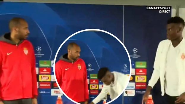 Thierry Henry Once Gave A Monaco Star The Coldest Stare After Not Tucking His Chair In