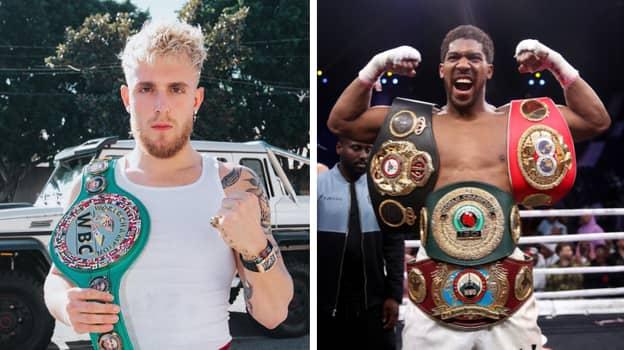 Anthony Joshua's Surprising Take On Jake Paul And YouTube Boxing