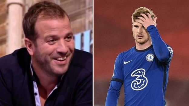Rafael Van Der Vaart Brands Timo Werner A 'Blind Horse' As He Launches Brutal Attack On Chelsea Striker