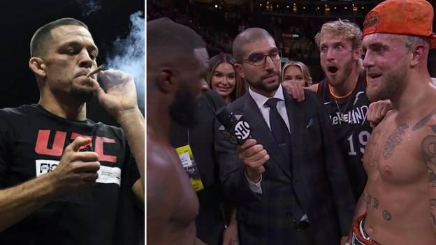 Nate Diaz Reacts To Jake Paul's Victory Over Tyron Woodley With Hilarious Tweet