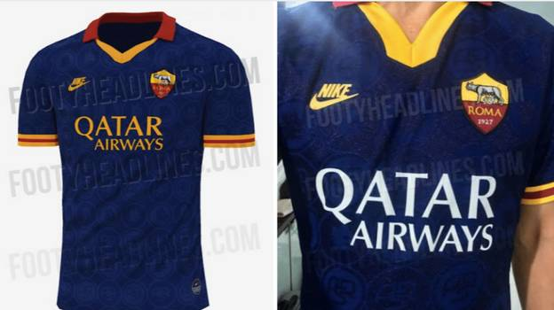 Roma's Leaked Third Kit Is One Of The Most Beautiful Retro-Inspired Kits Ever Made
