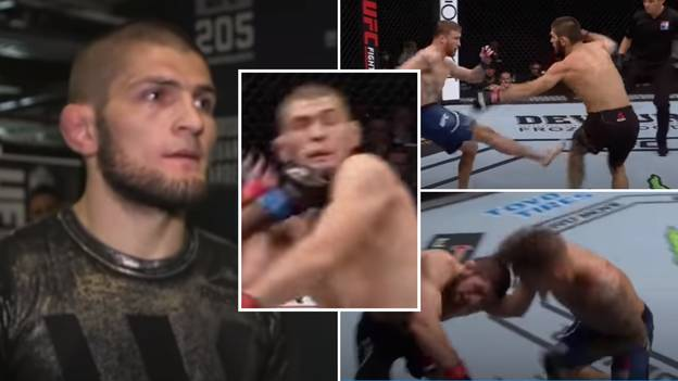 Khabib Was In Trouble 'Only Three Times' During His UFC Career - The Footage Is Fascinating