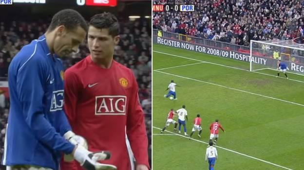 When Rio Ferdinand Became A Goalkeeper And Faced A Penalty During His Time At Manchester United