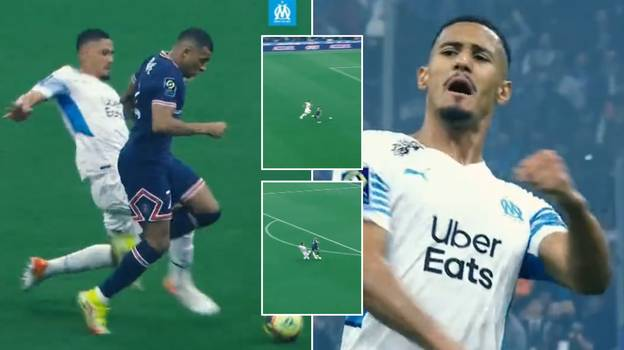 William Saliba Matched Kylian Mbappe Stride For Stride Before Producing A Spectacular Match-Saving Tackle