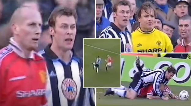 When The Two Hardest Men In Football Collided: Jaap Stam Vs Duncan Ferguson