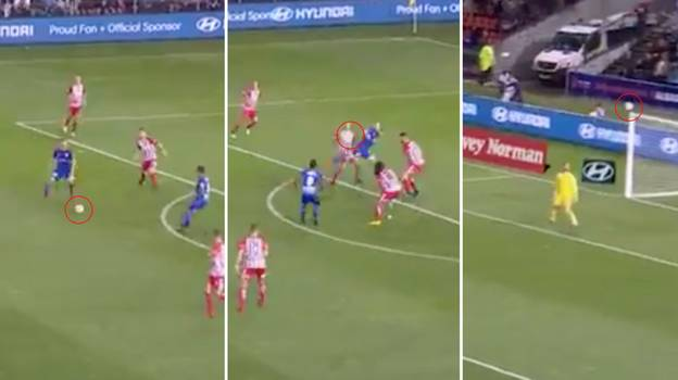 Newcastle Jets Player Scores Goal That'll Make You Change Your Boxers