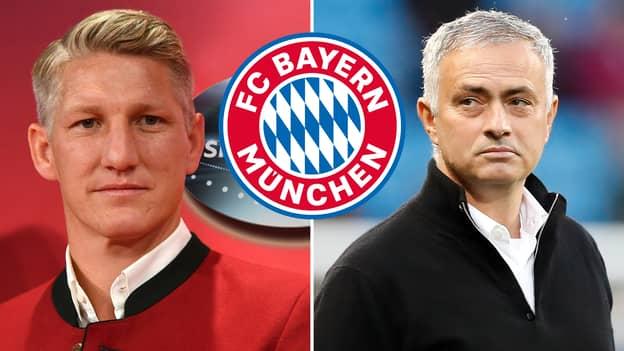 Jose Mourinho 'Always Asked About Bayern Munich' At Manchester United, Says Bastian Schweinsteiger