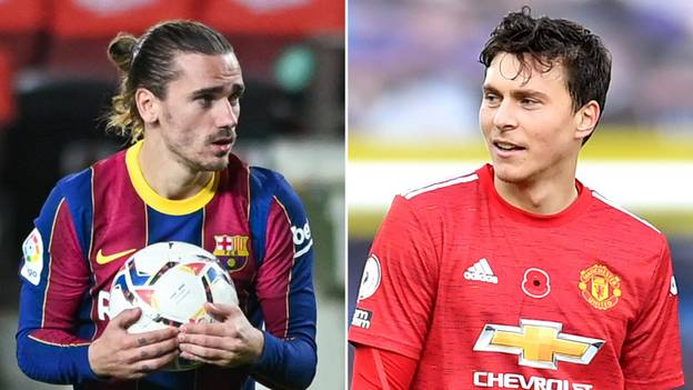 Manchester United 'Offered Antoine Griezmann' With Victor Lindelof Joining Barcelona In Outrageous Swap
