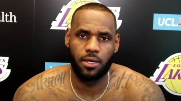 LeBron James Slammed For Refusing To Answer COVID-19 Vaccine Questions